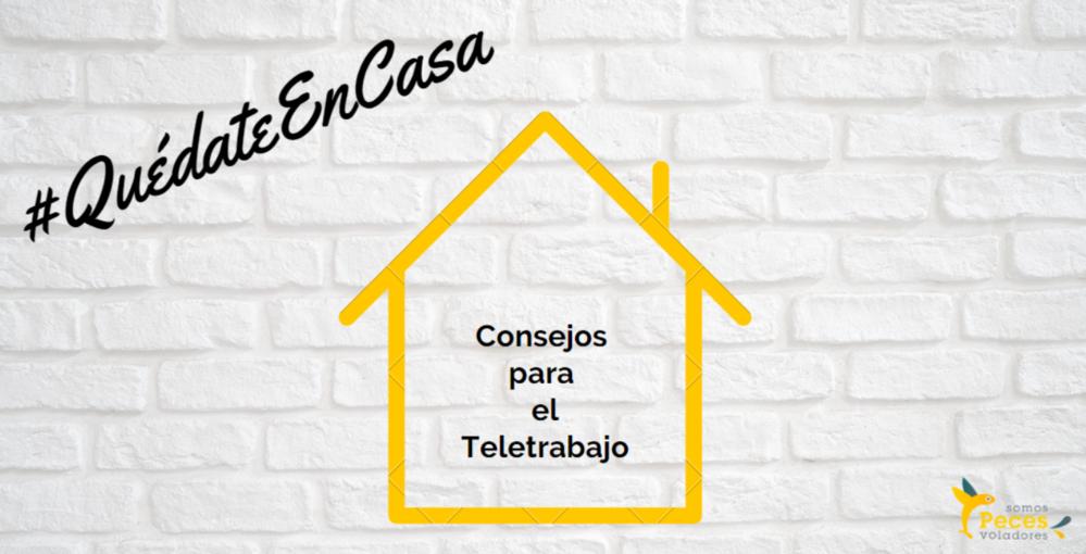 #QuédateEnCasa teletrabajo