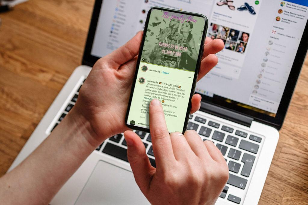 sarastudio redes sociales